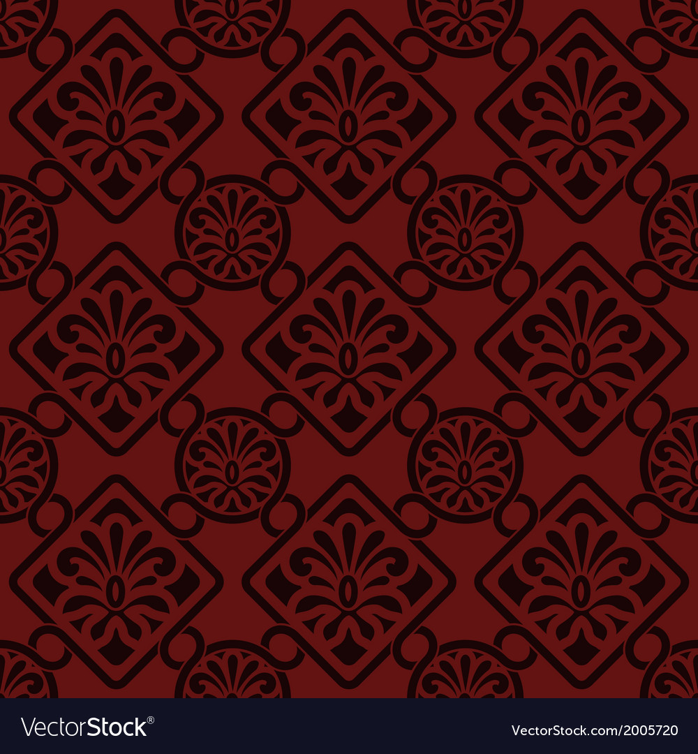 Seamless floral pattern indian style