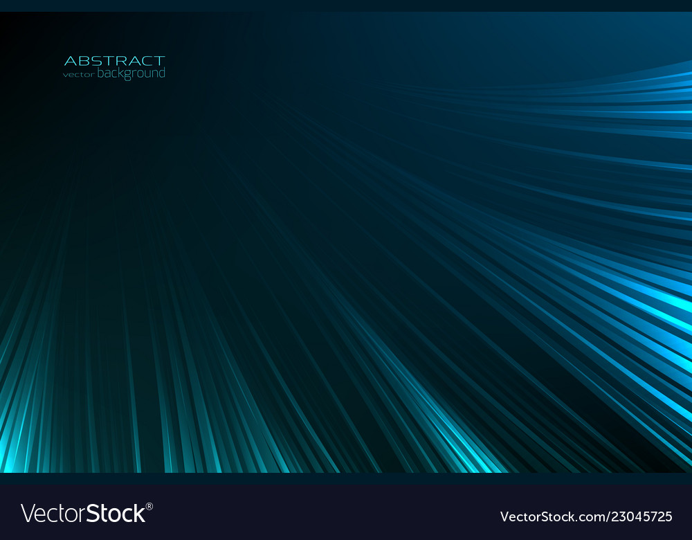 Abstract background glow neon blue light lines