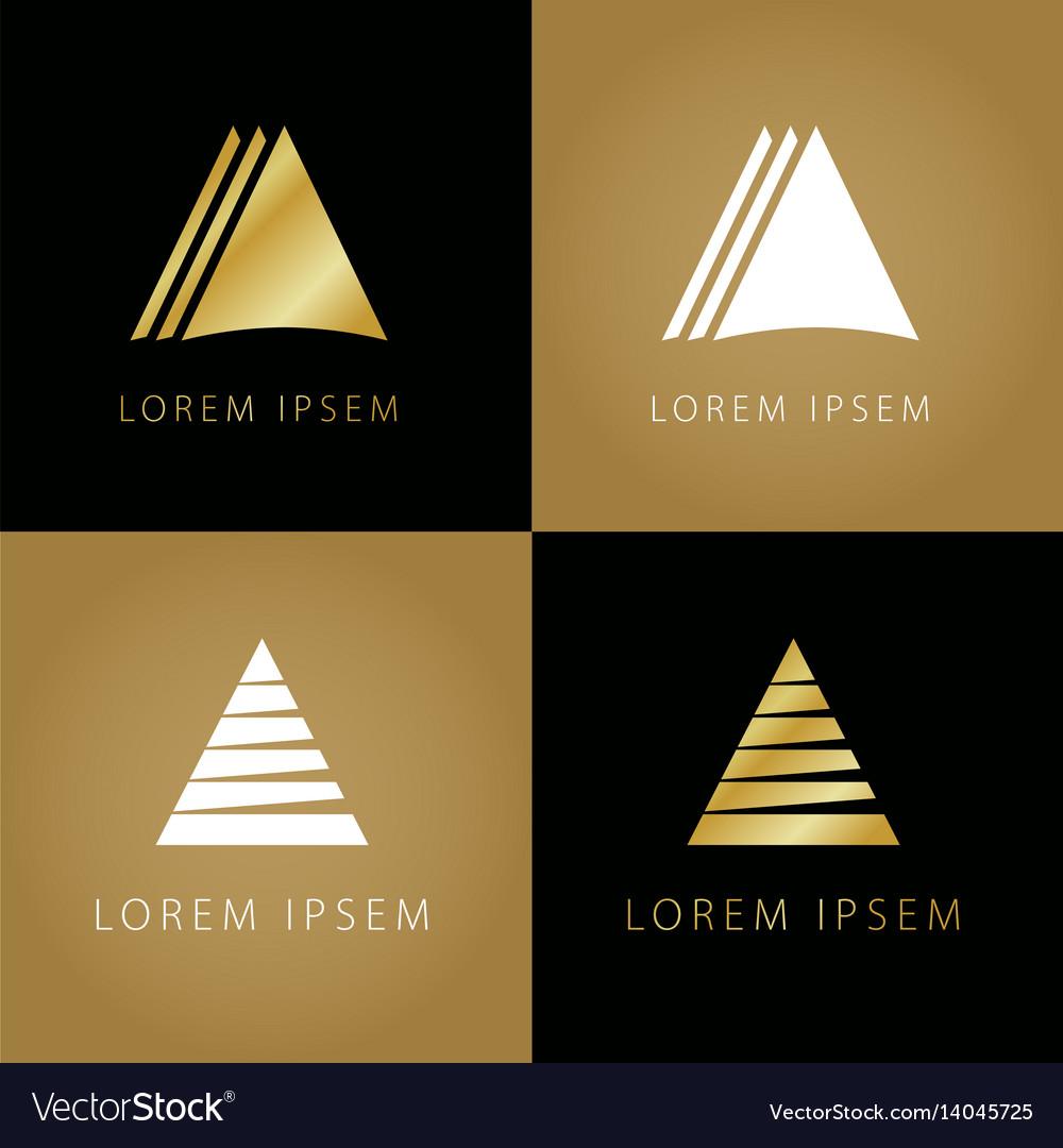 Golden triangle symbols