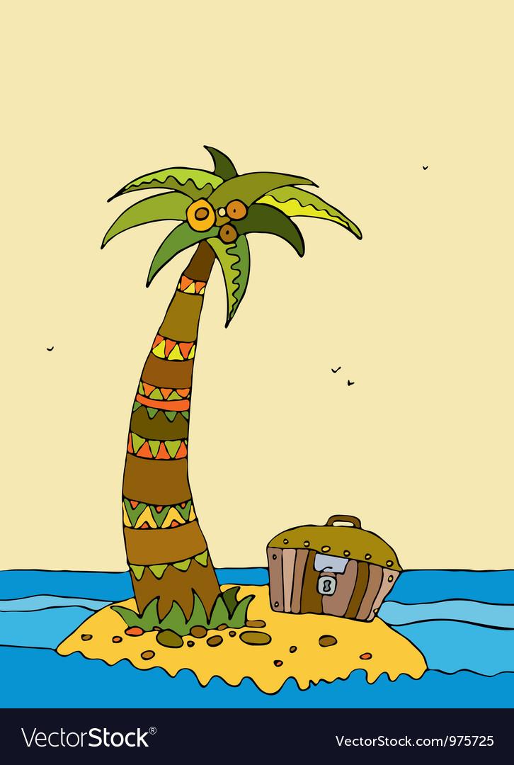 Island Sea Coco Chest