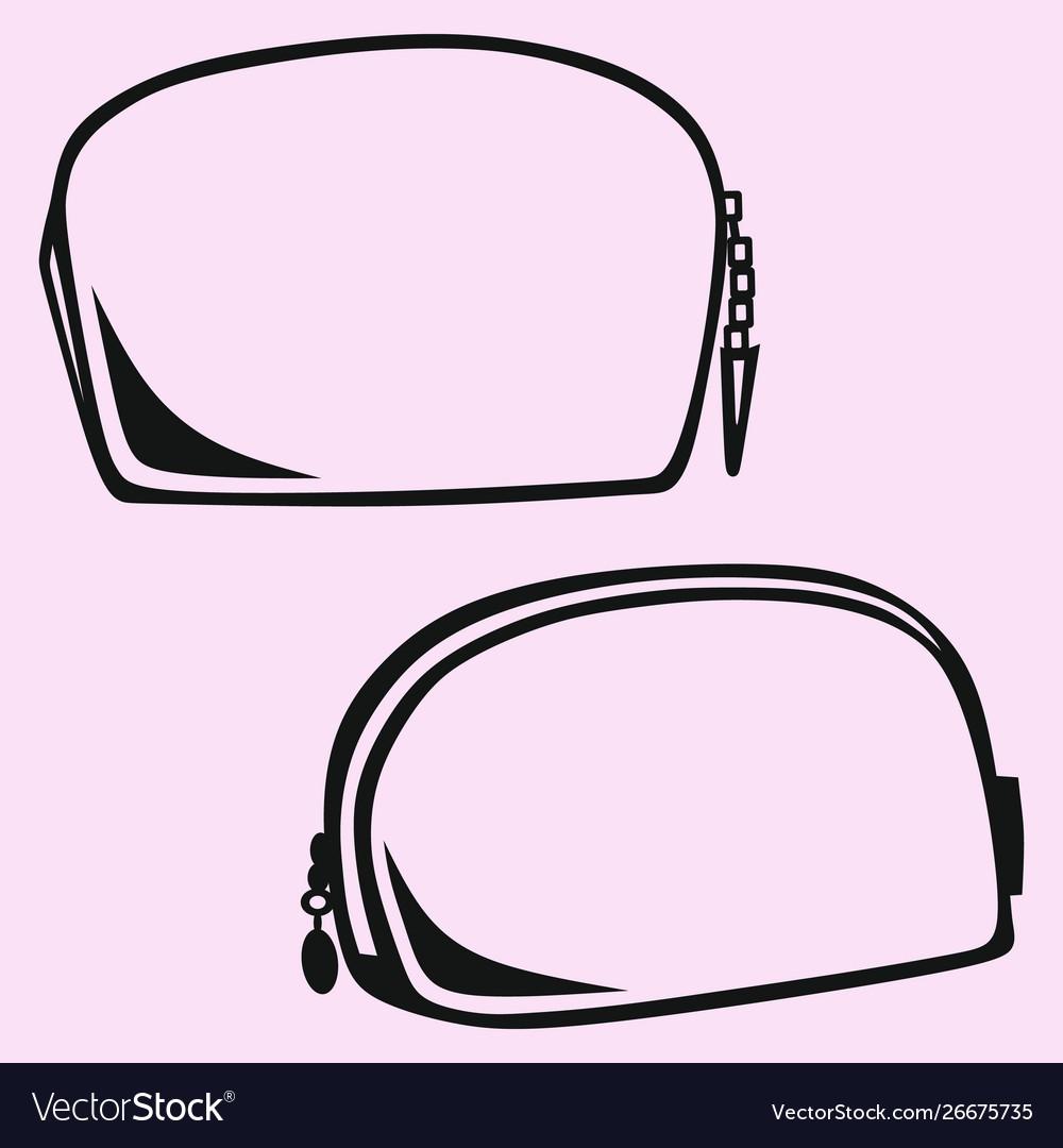 Makeup bag cosmetic bag