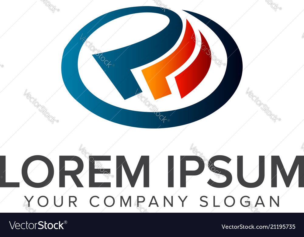 Tax business logo design concept template