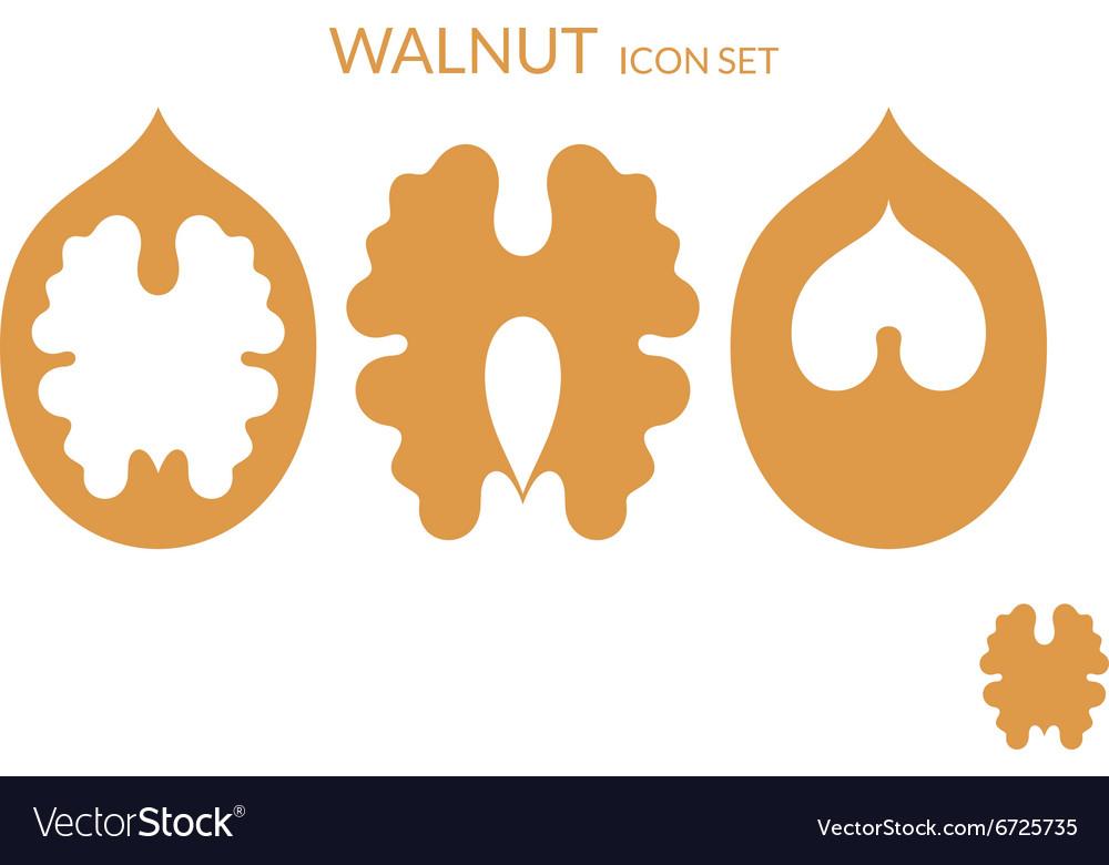 Walnut Icon set