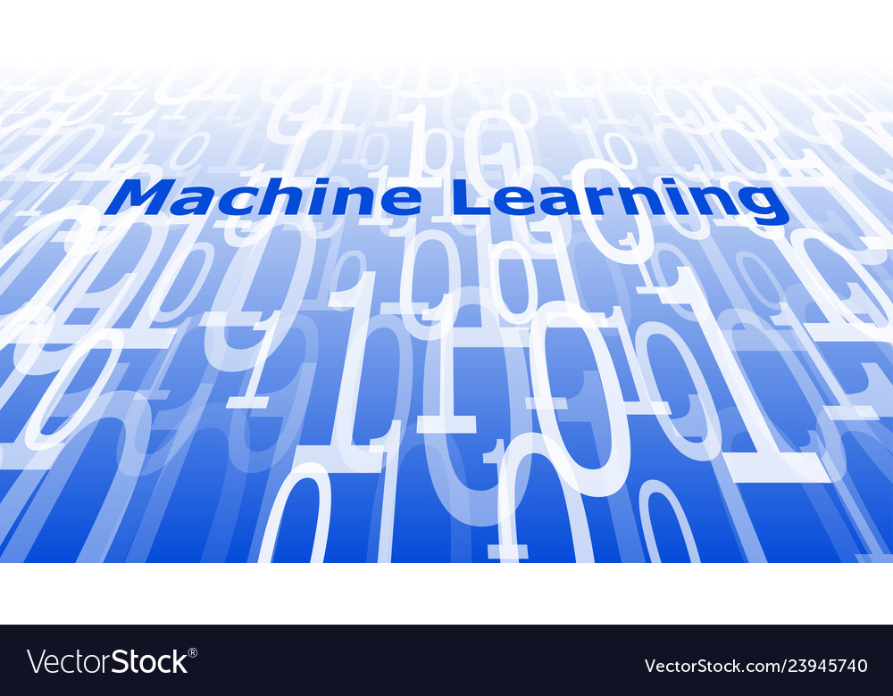 Computer Software Machine Learning Algorithms Vector Image