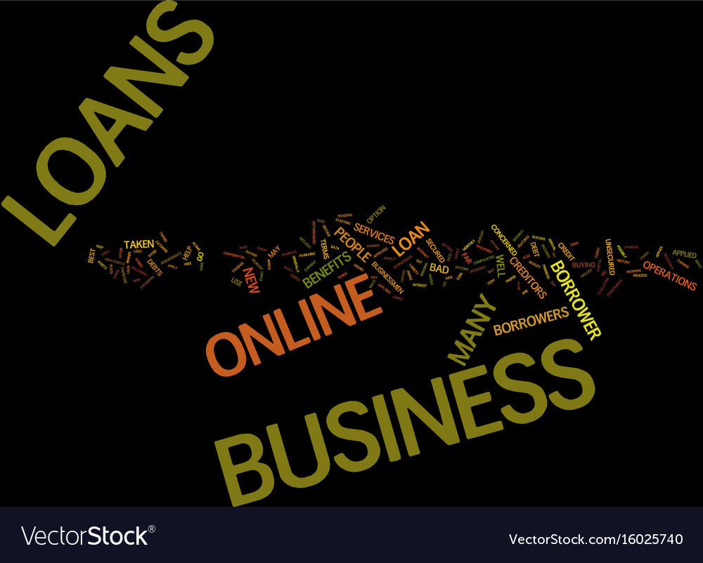 For hassle free business loans try online