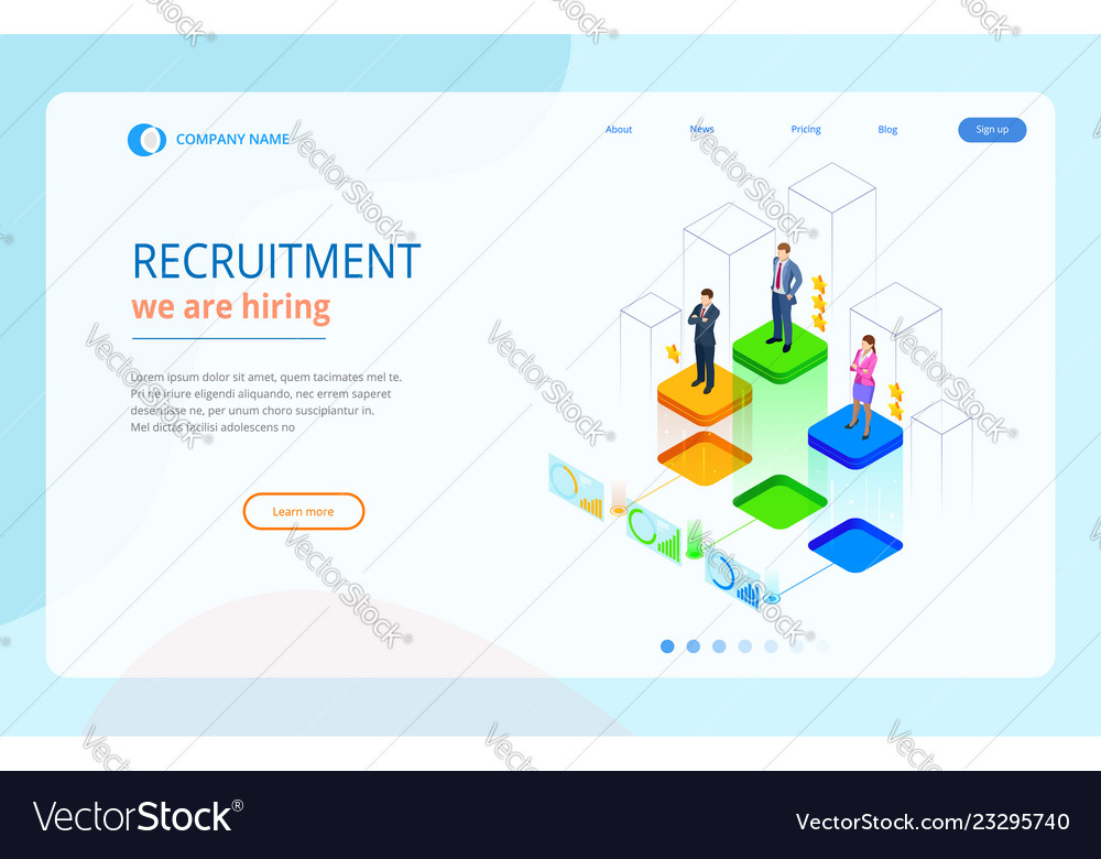 Online Job Search >> Isometric Online Job Search And Human Resource