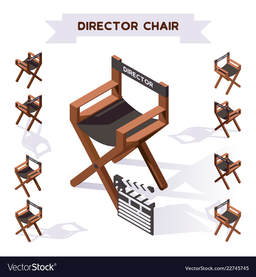 3d with director chair making