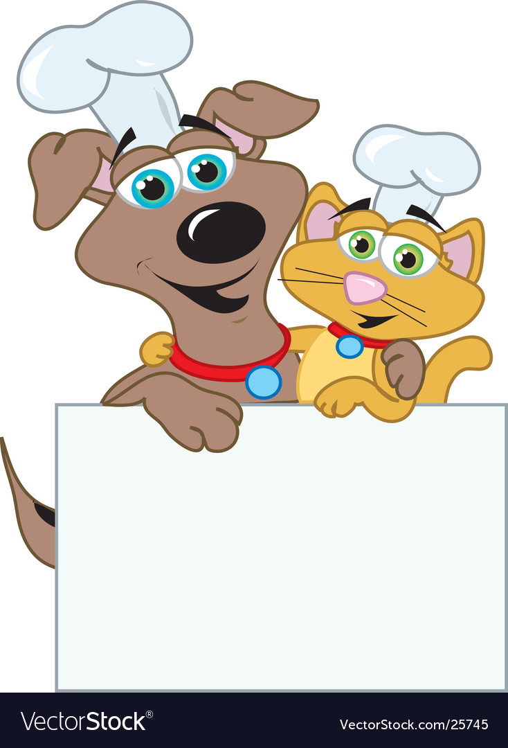 Dog and cats chefs