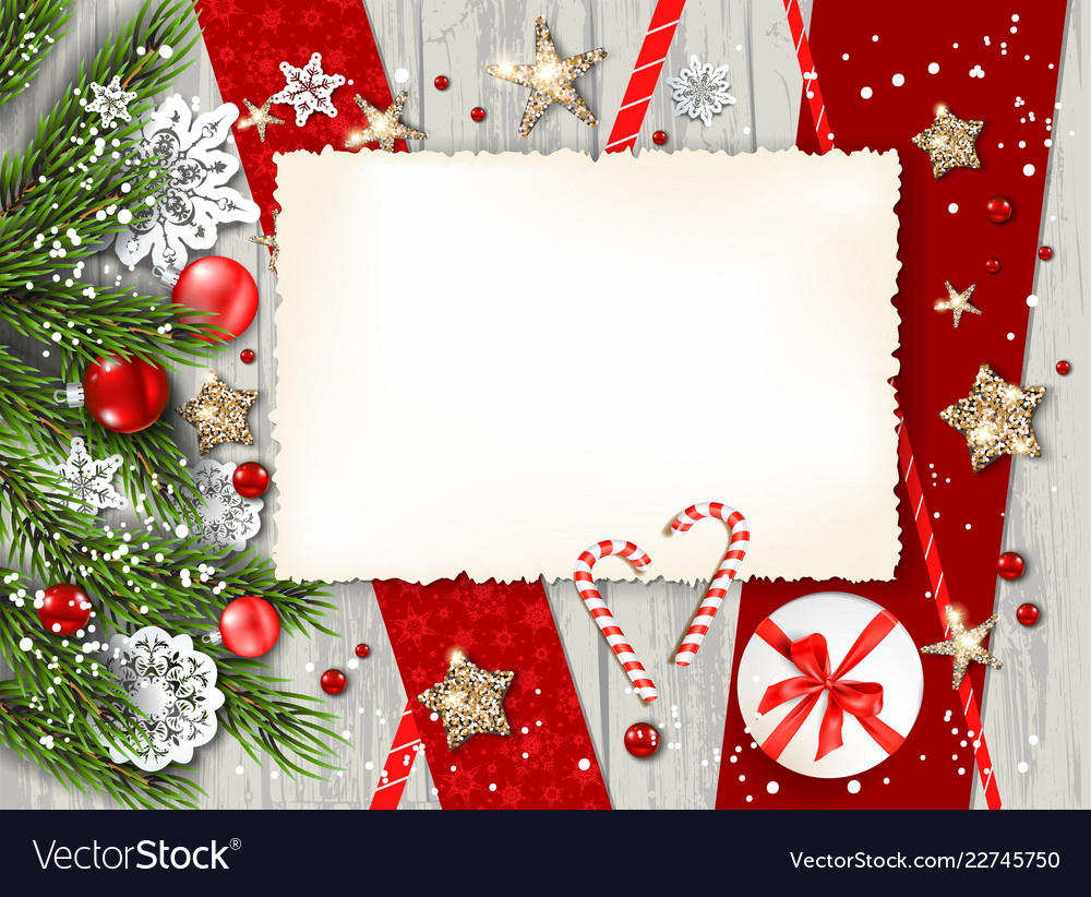 Blank for invitation Royalty Free Vector Image