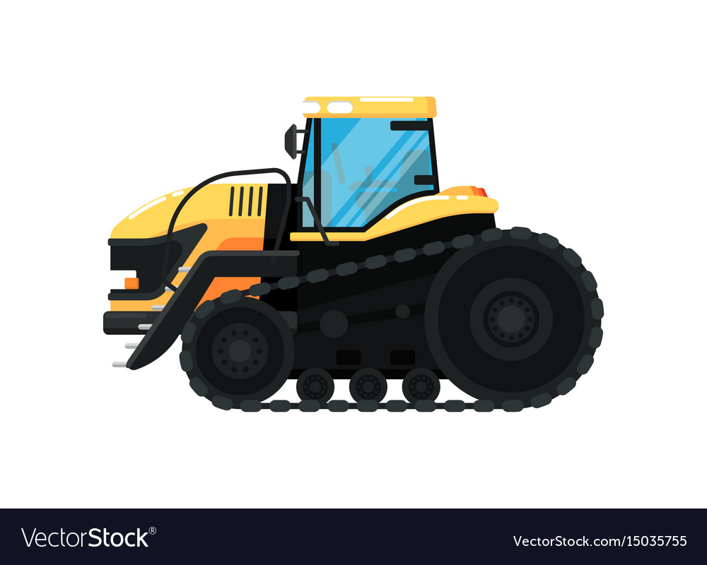 Crawler agriculture tractor