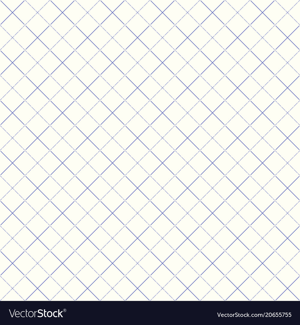 Seamless rhombus pattern with dotted lines