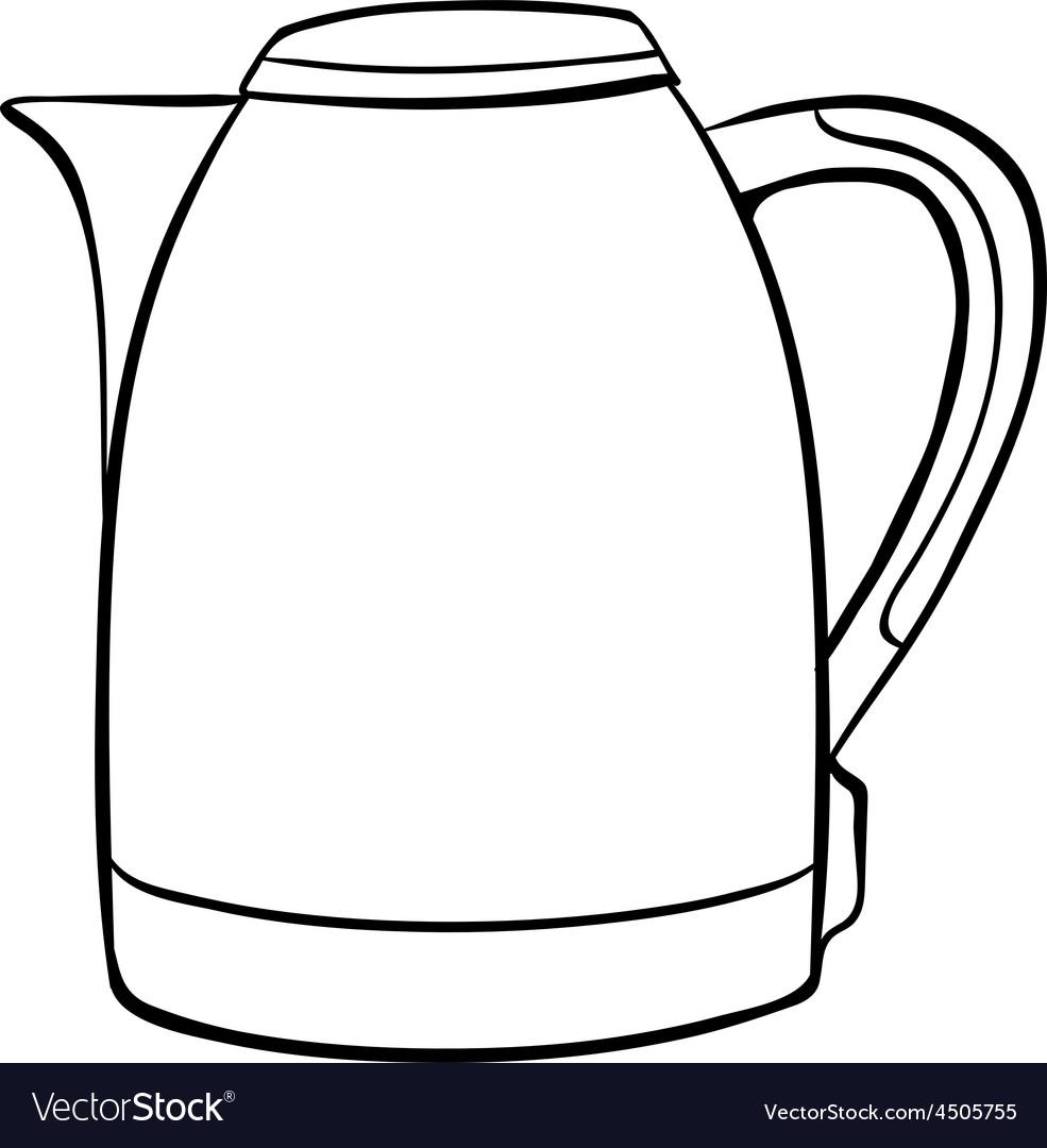картинка электрический чайник раскраска палас первый городе