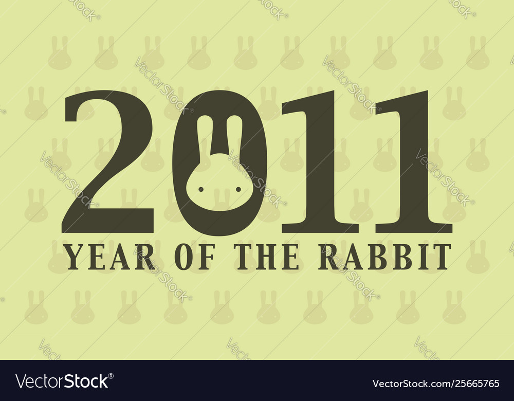 2011 year rabbit