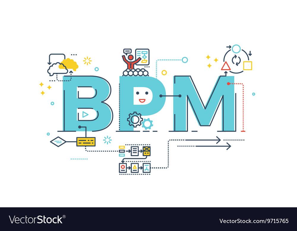 BPM Business Process Management word