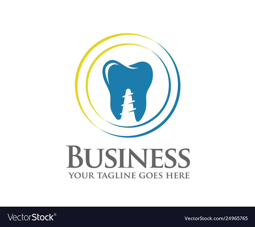 Dentist colorful logo