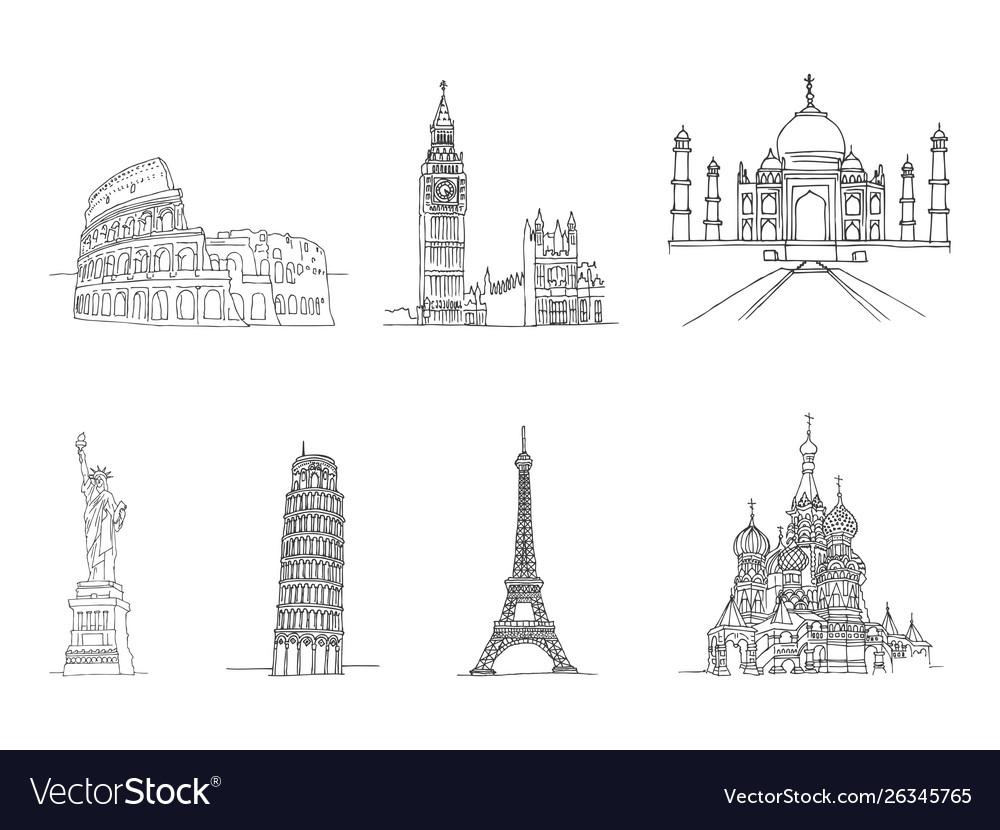 Famous places world