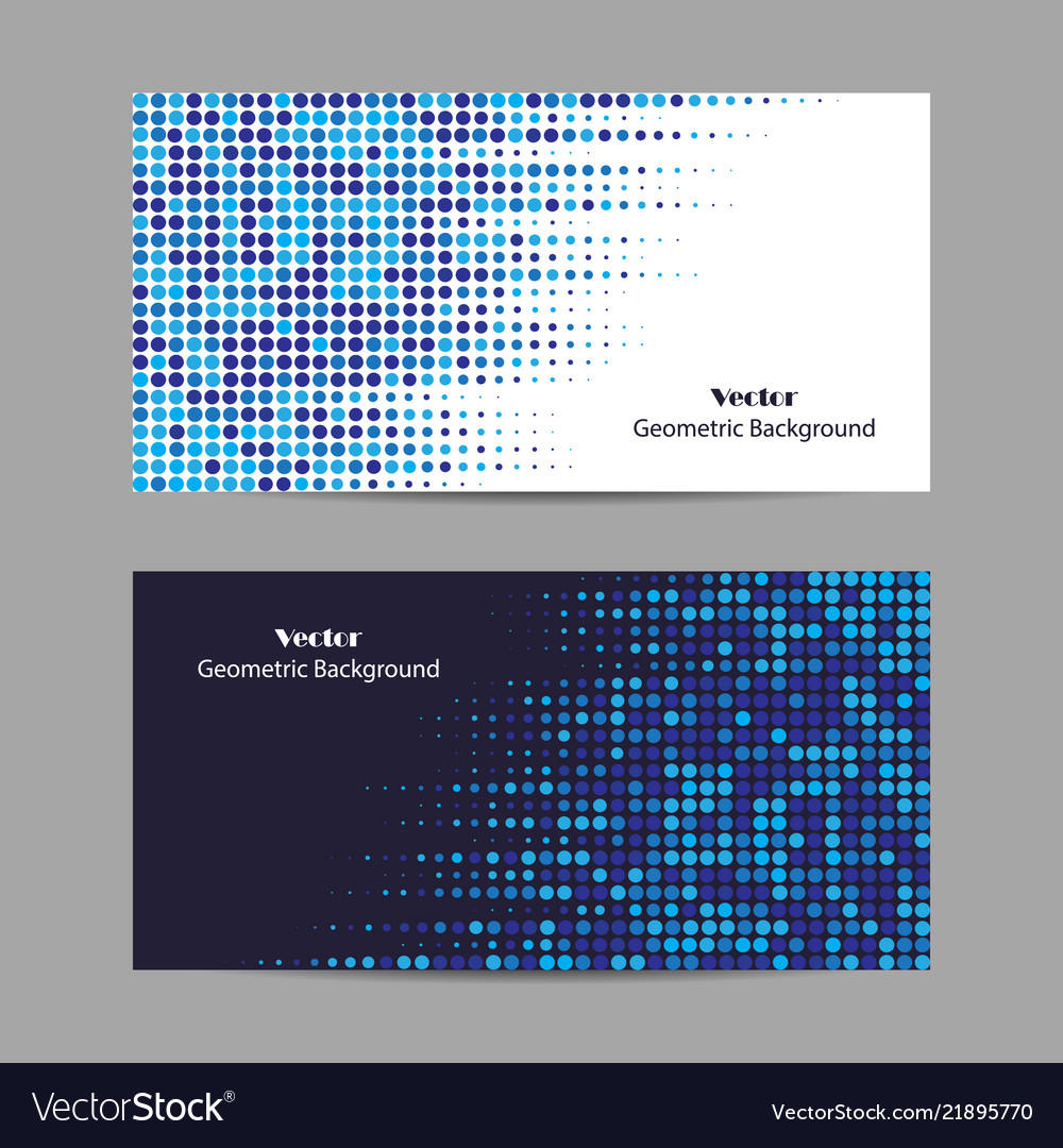 Abstract blue dotted background halftone
