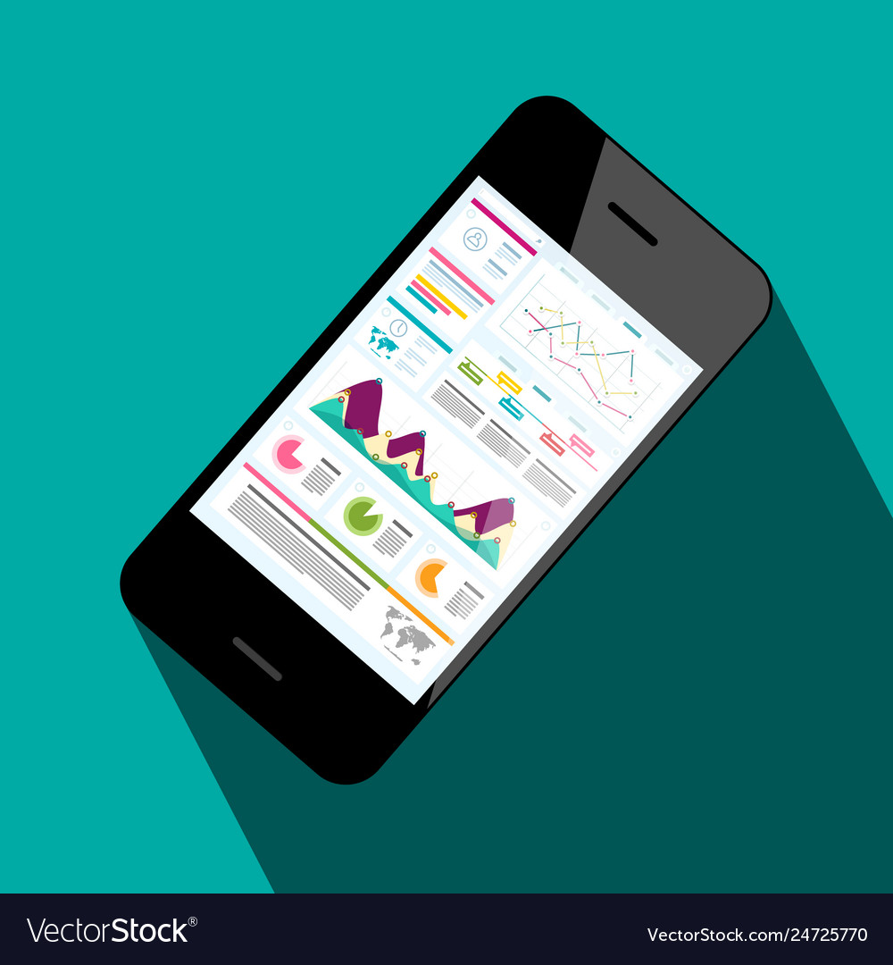 Mobile phone with business application web page