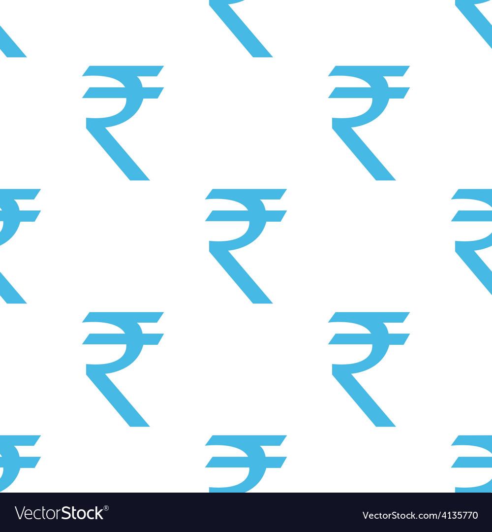 Rupee seamless pattern