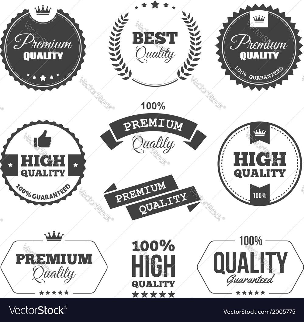 Premium quality 1 vector image