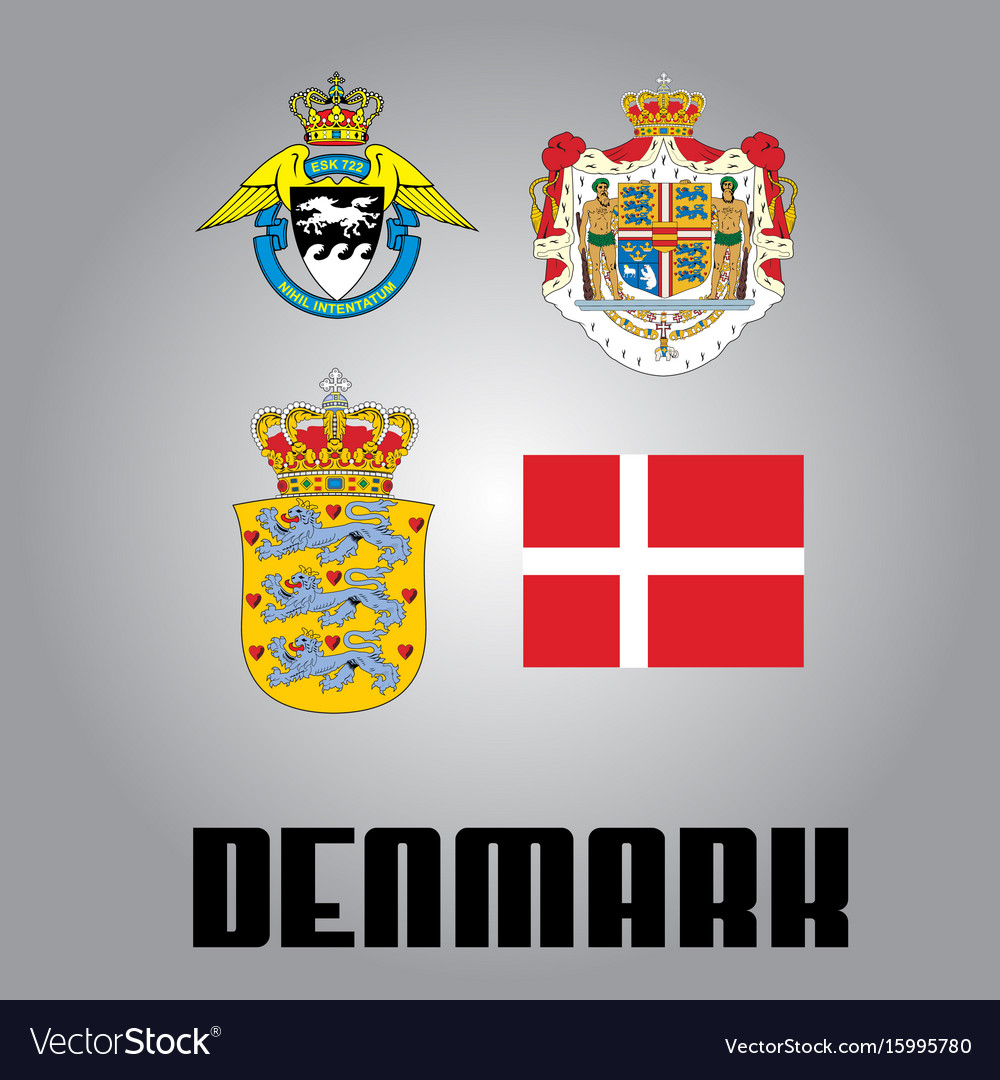Official government elements of denmark
