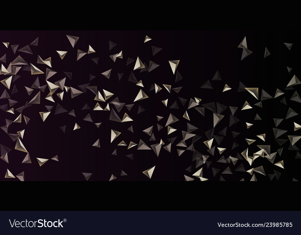 Abstract composition of triangle