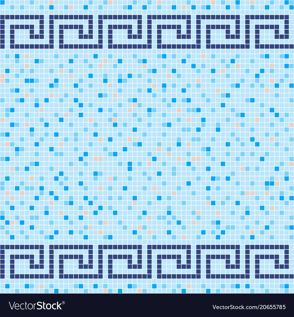 Ceramic Tile Mosaic Patterns. Mosaic Pattern With Ceramic Tiles In ...