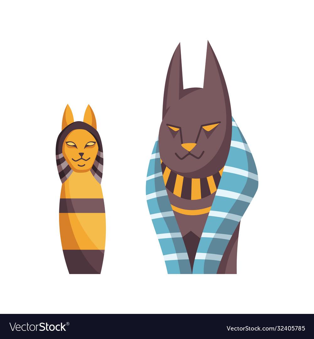 Egyptian cat bastet goddess black cat