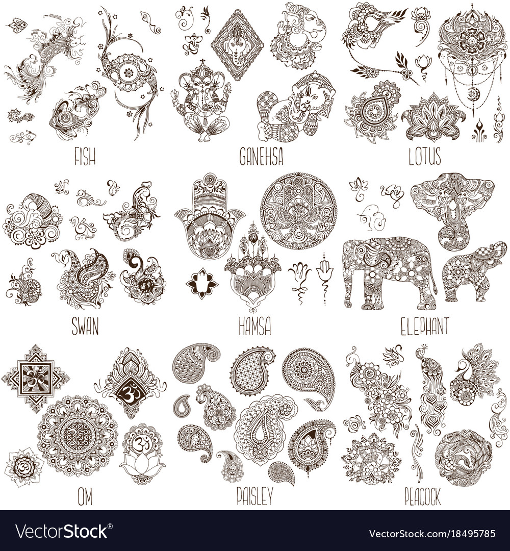 Oriental Decorative Symbols