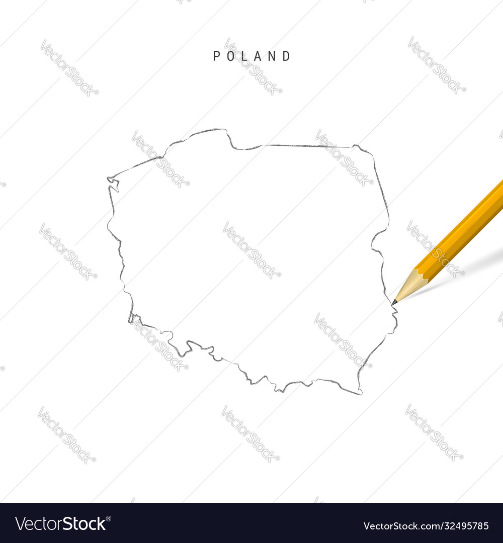 Picture of: Poland Blank Map Vector Images 27