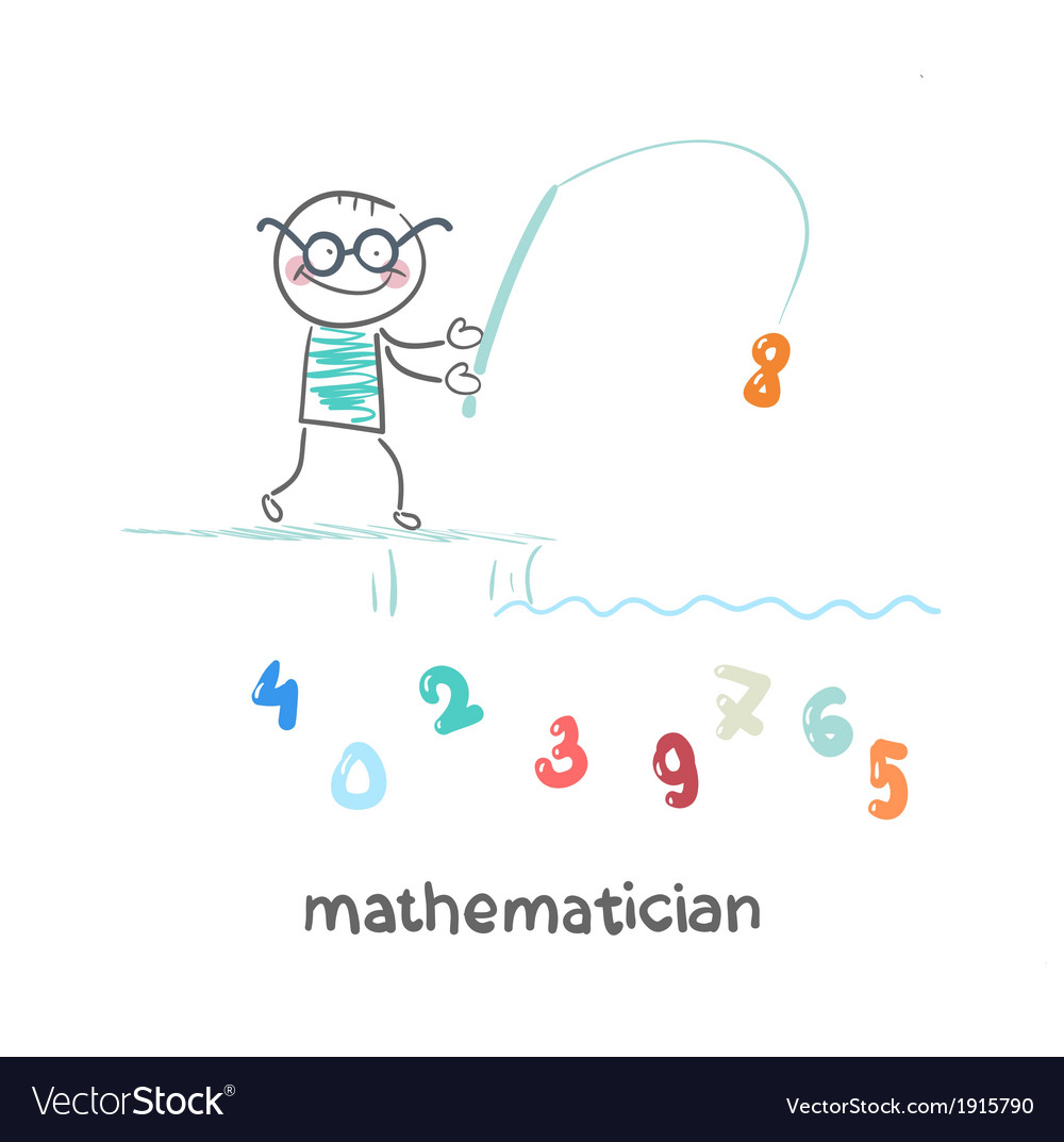 Mathematician catches a fishing pole figures
