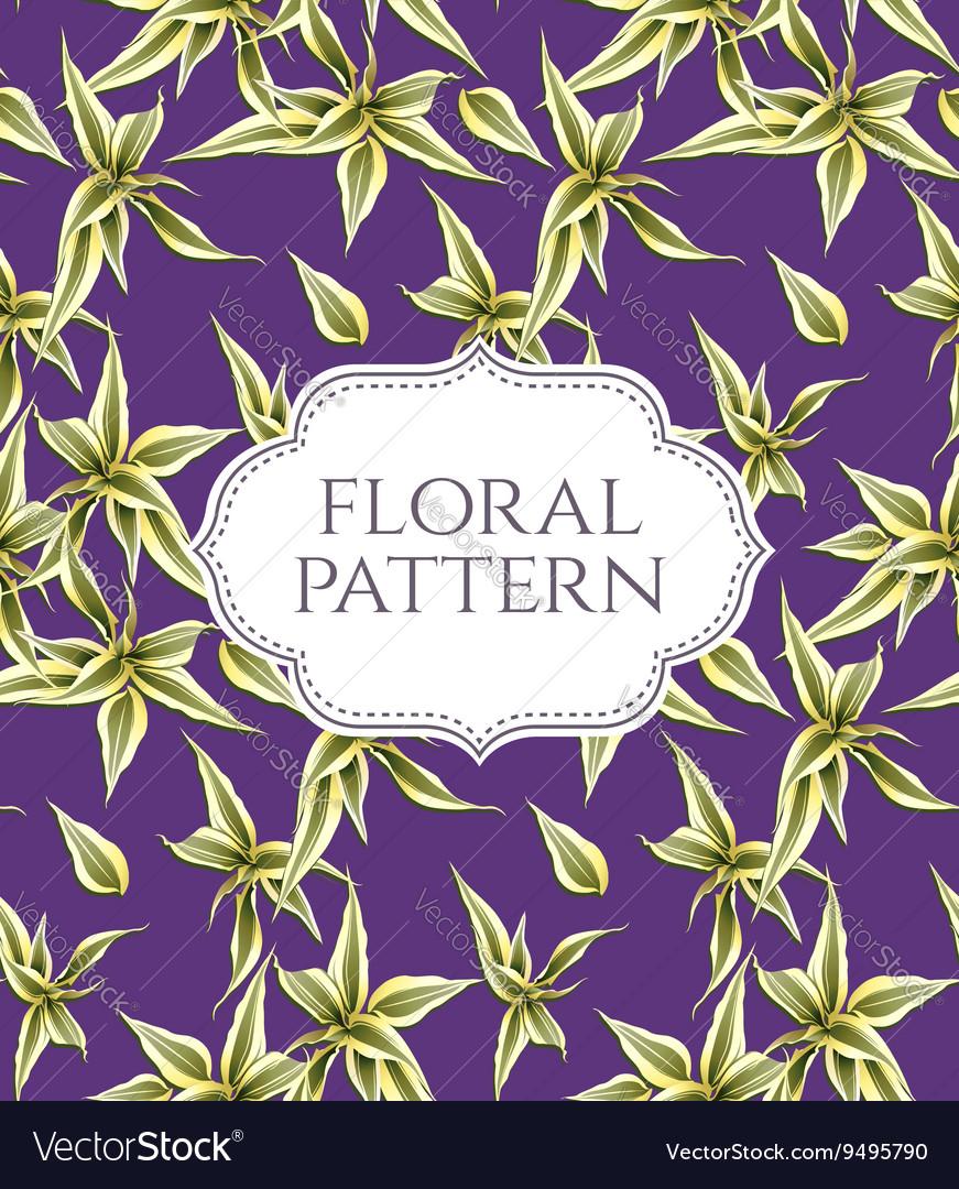Seamless floral pattern Vintage background