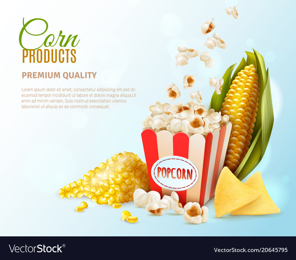 Corn products composition