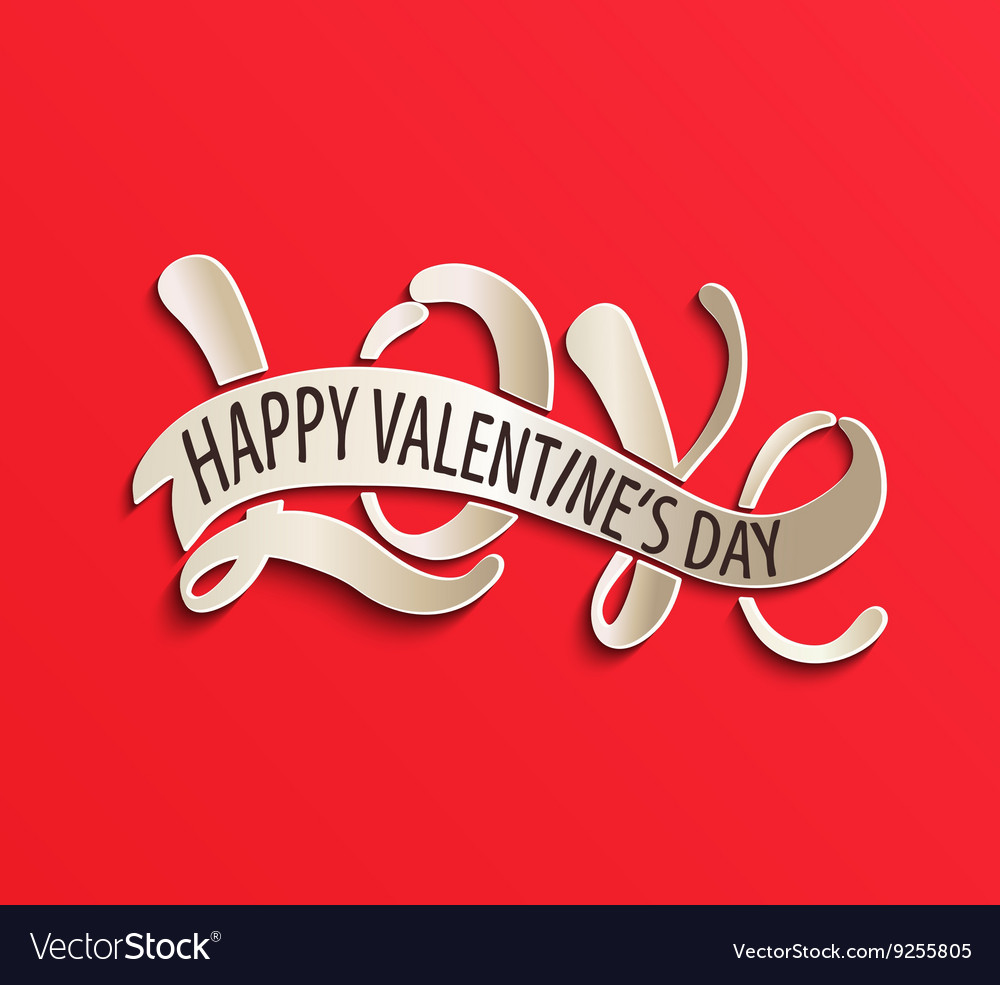 Love - Happy Valentines day
