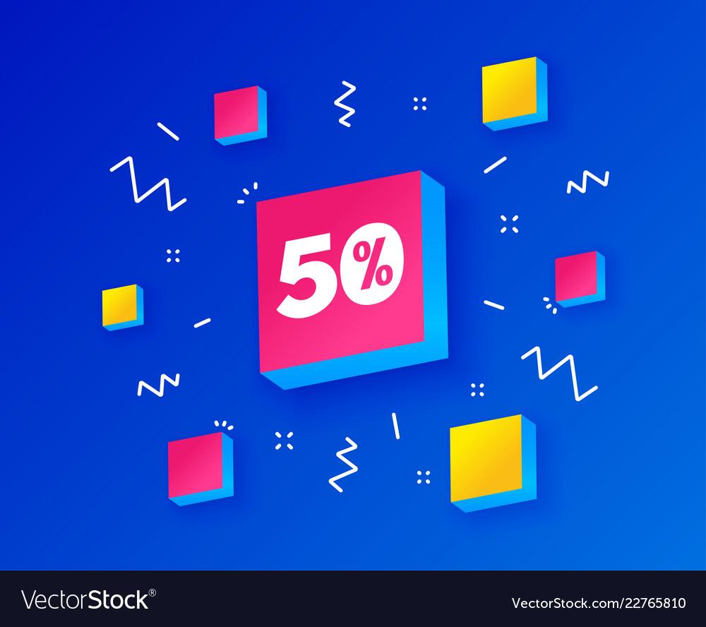50 percent discount sign icon sale symbol