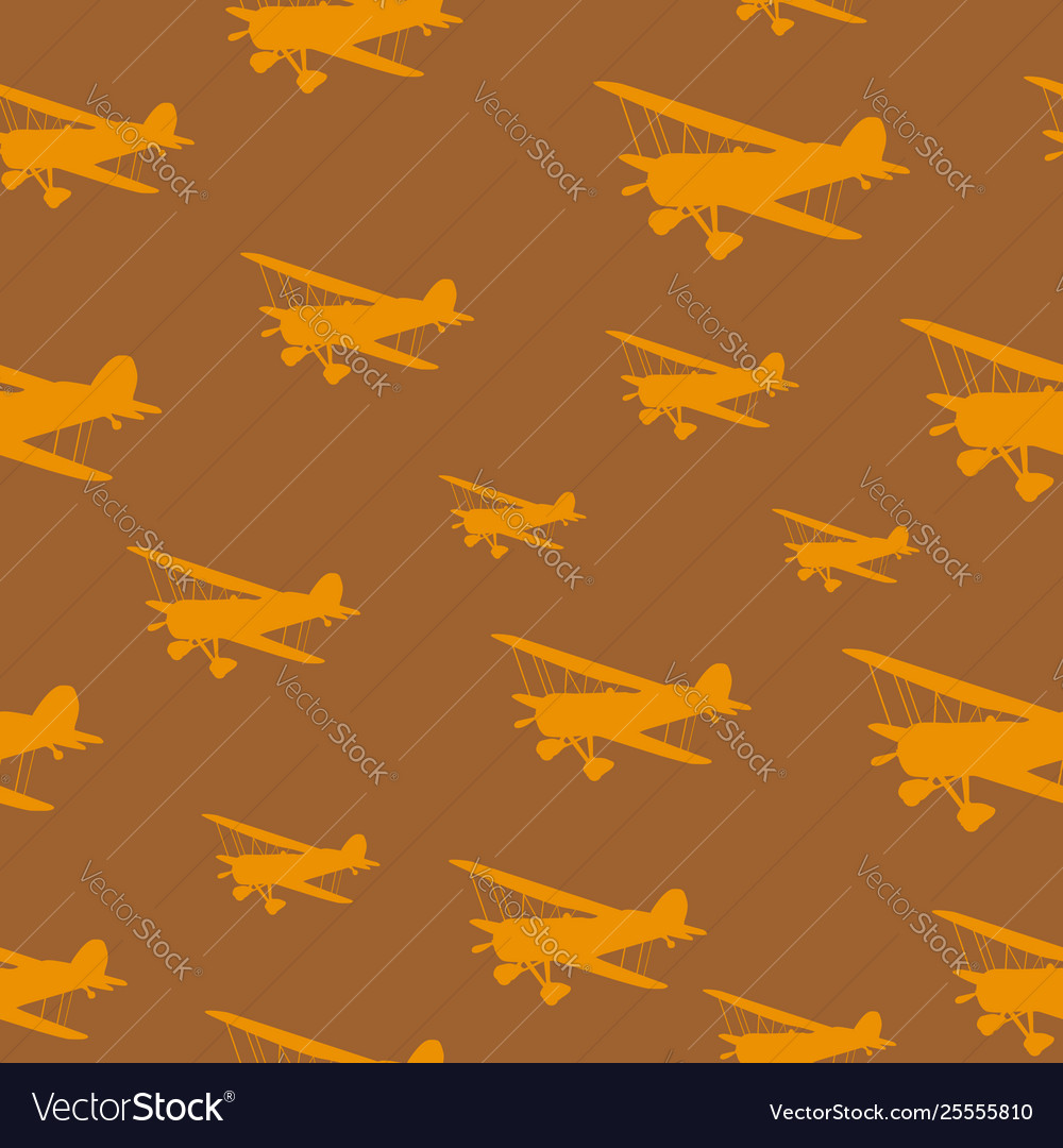 Tile vintage biplanes