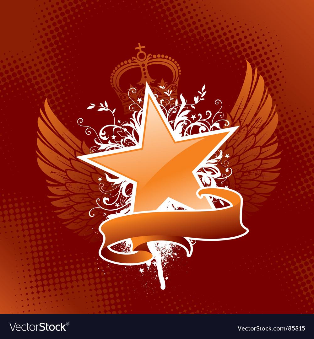 Heraldic star