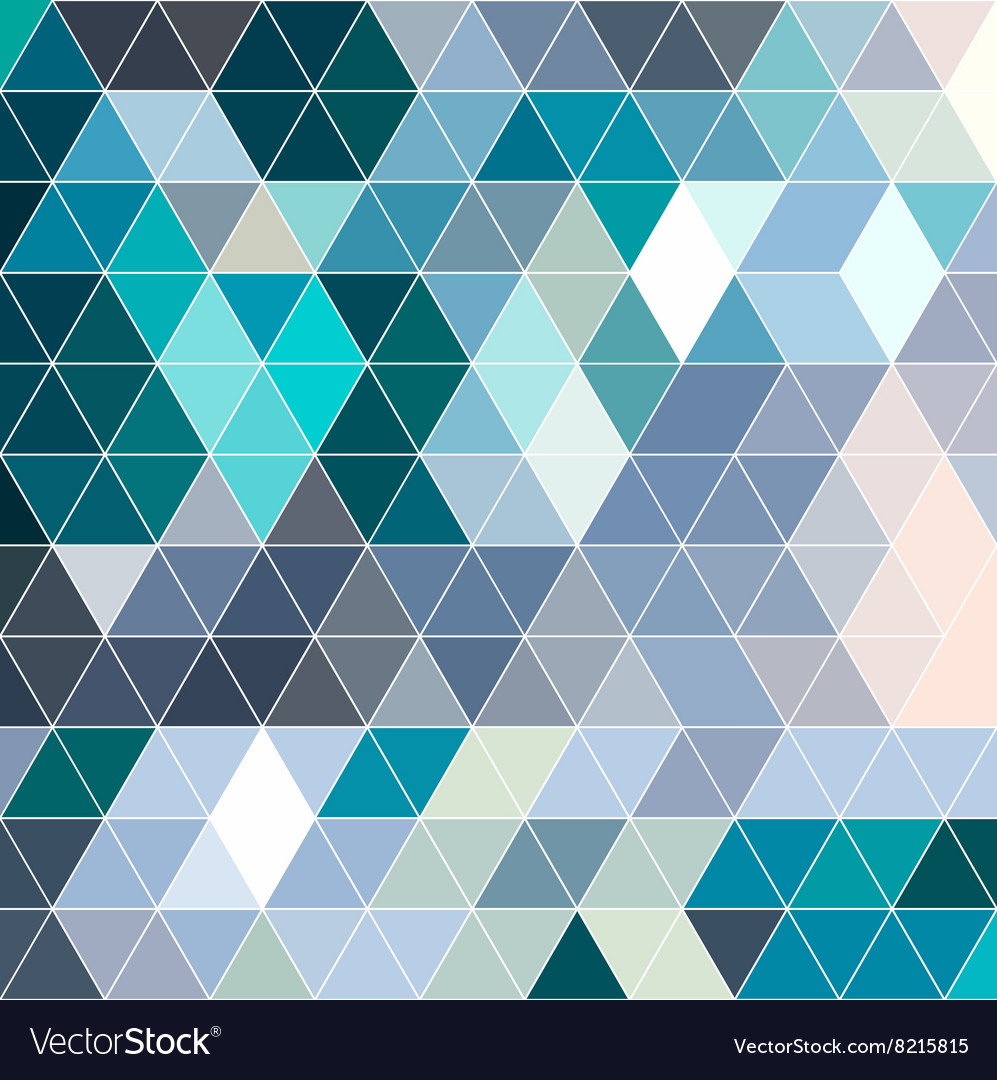 Retro pattern of geometric shapes Colorful mosaic