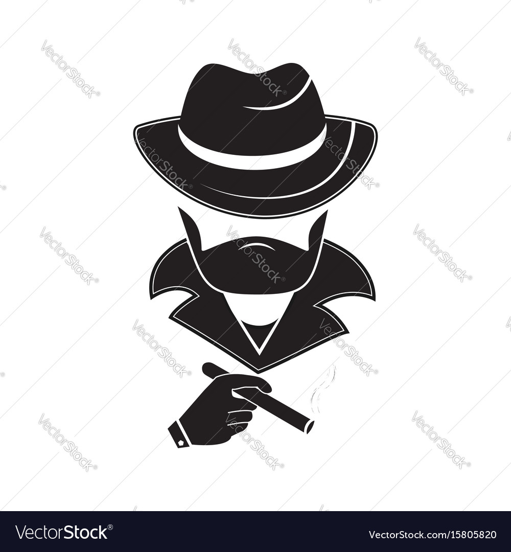 A stranger in a hat holds a cigarette in his hand