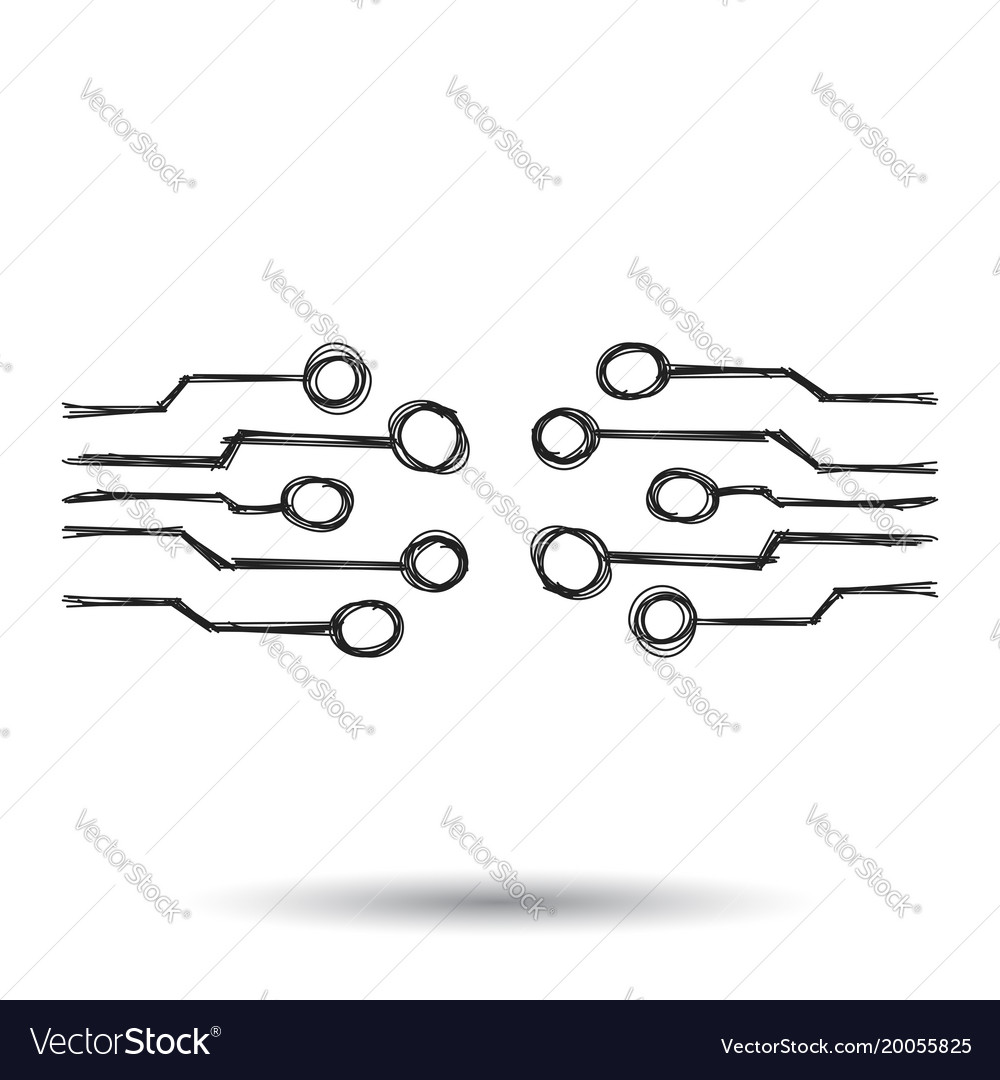 Circuit Doodle Series And Parallel Circuits Gcse Physics Science Youtube Hand Drawn Board Icon Scetch Vector Image 1000x1080