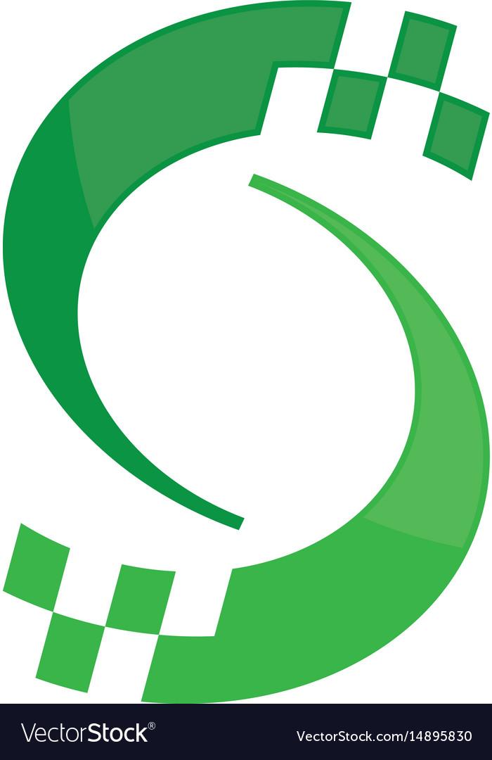 Abstract spin logo image