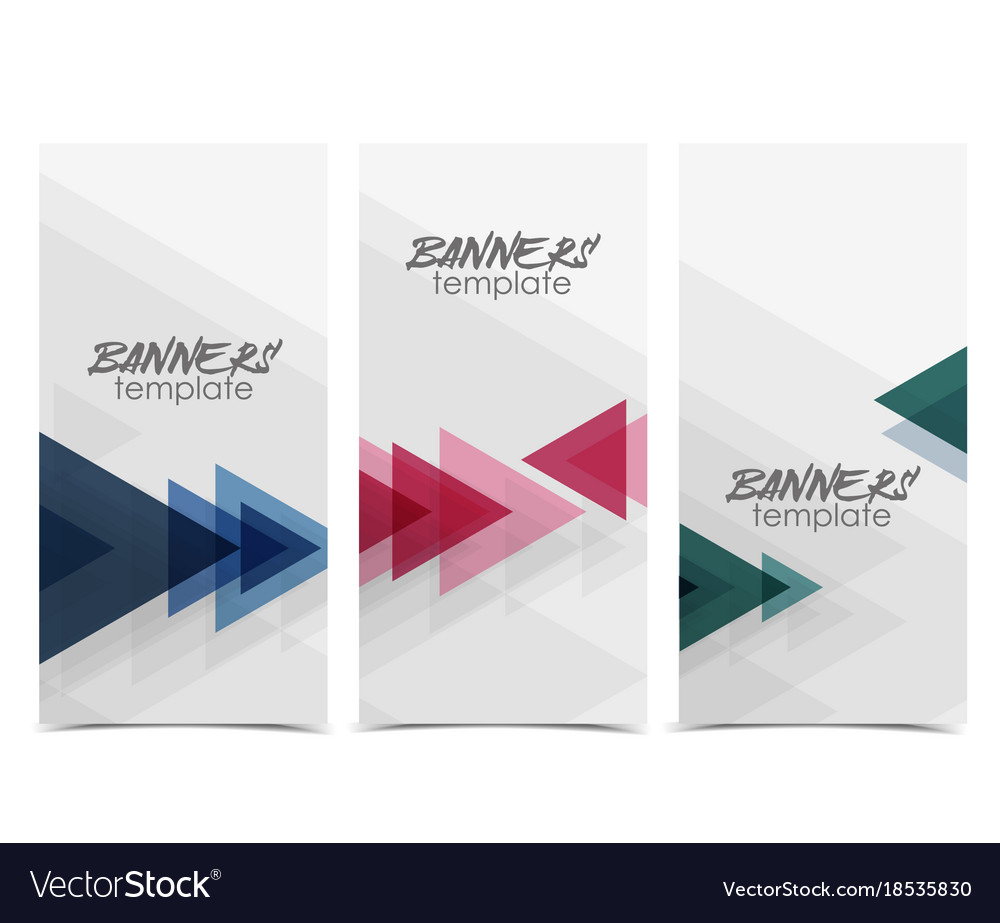 Abstract web banner