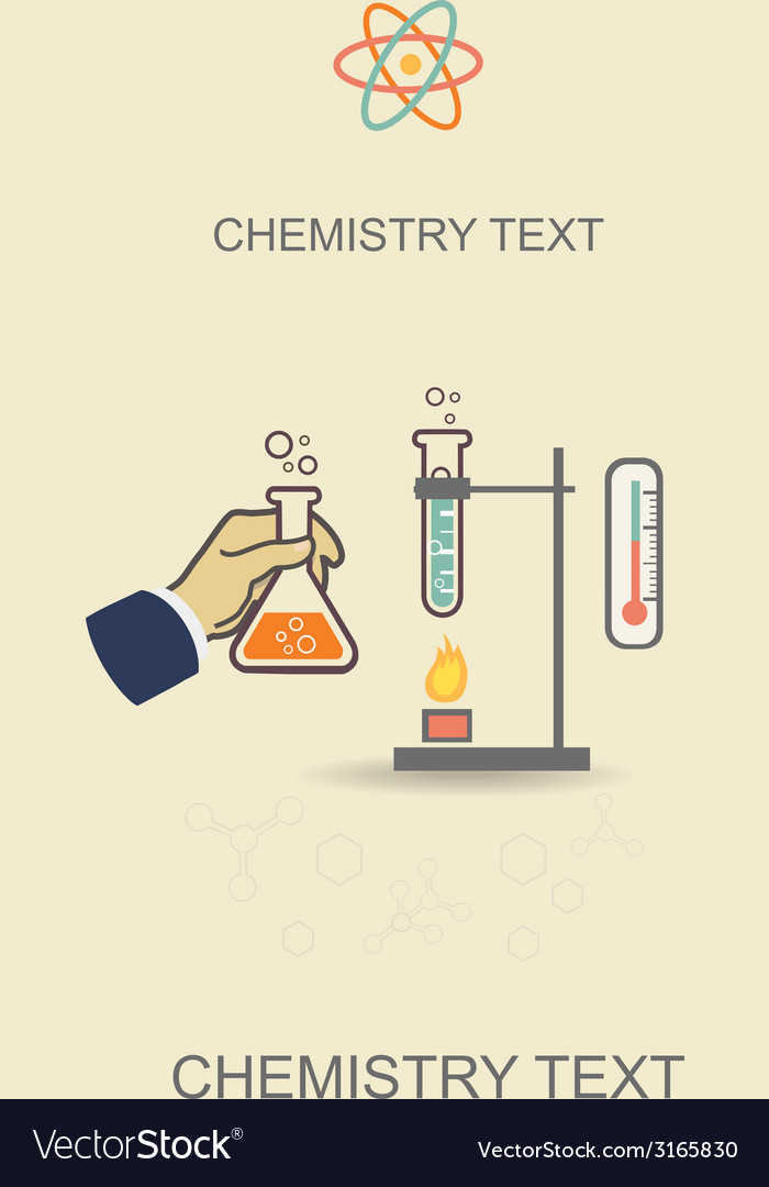 Chemistry infographic poster