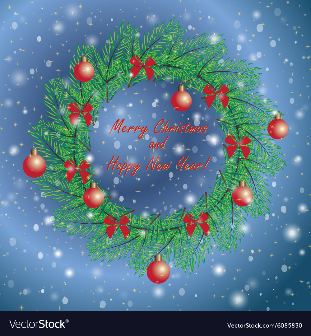 Christmas and New Year vintage greeting cards with