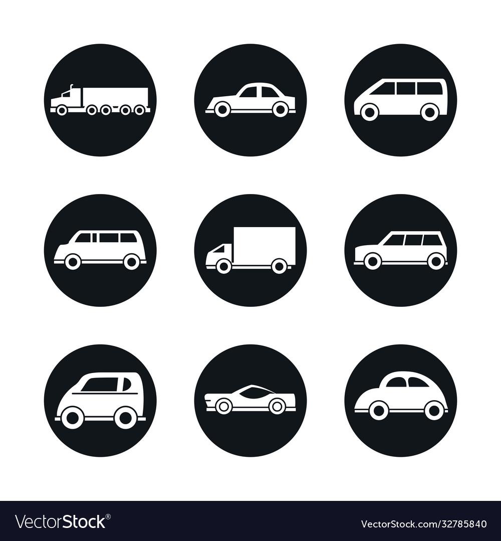 Car model sport truck van transport vehicle