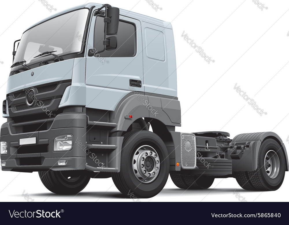 European commercial freight vehicle