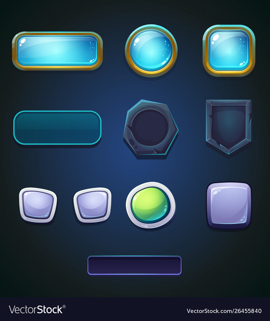 Set a different colored buttons