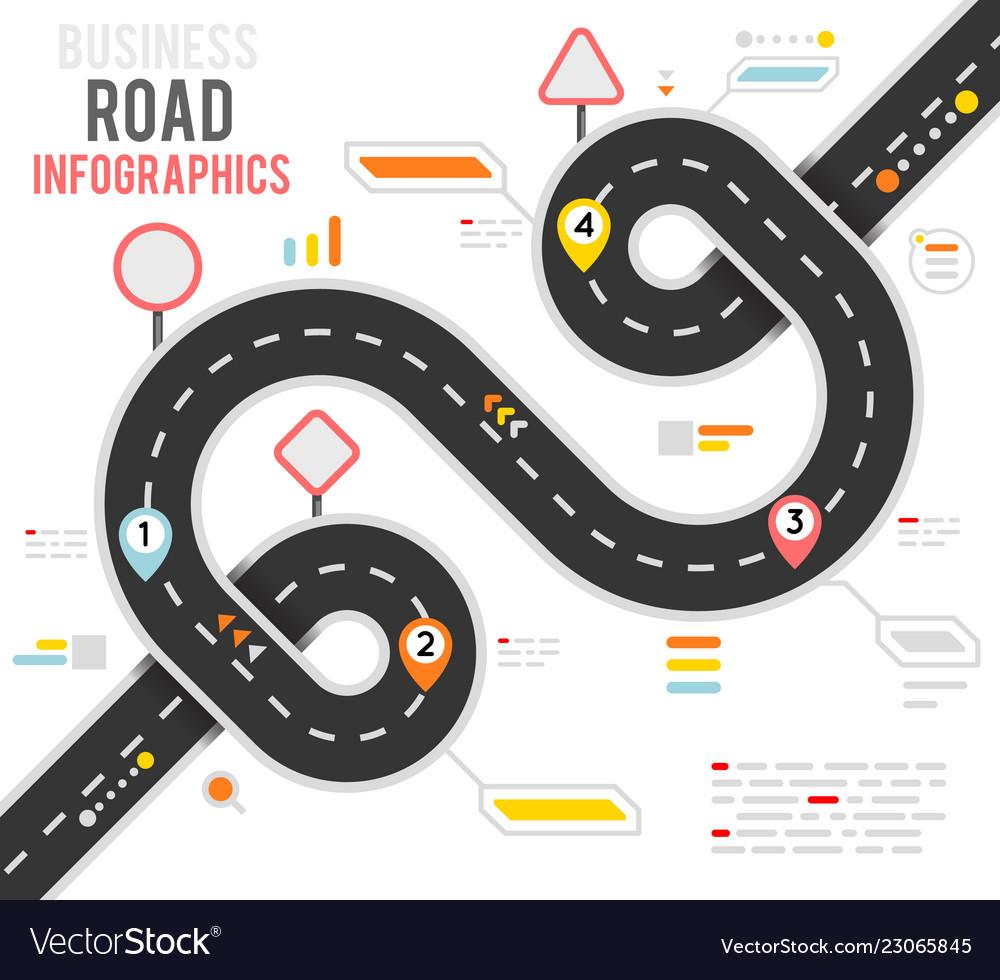 Info business plan navigation loop bend road way