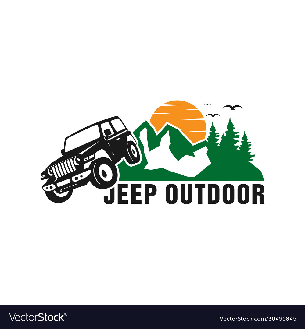 Jeep car logo design