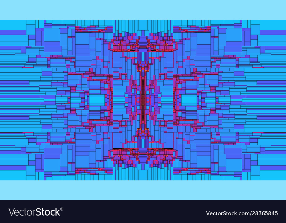 Rectangle shapes structure background